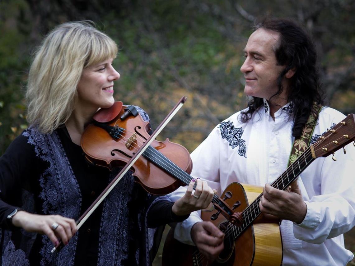 Ann-Sofi Jonsson & John Mitchell Flottbroscenen i Gagnefs Kyrkby