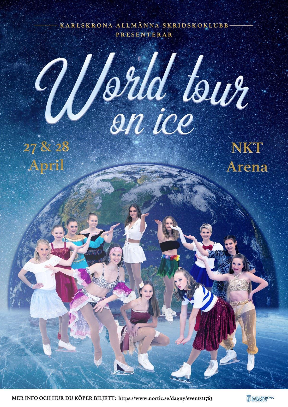 World tour on ice - Karlskrona General Skating Club