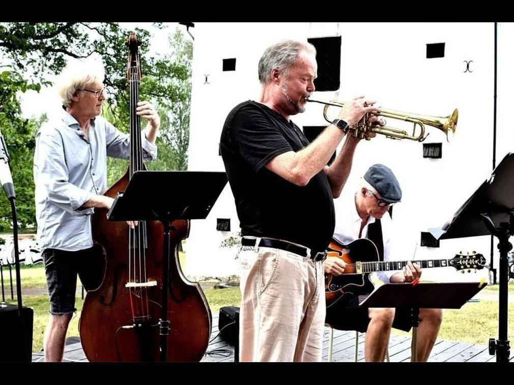 Kjell Berglunds trio på Hammarbacken