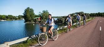 The Maritime Mariehamn.  Biking package 2 days, stay at a B&B