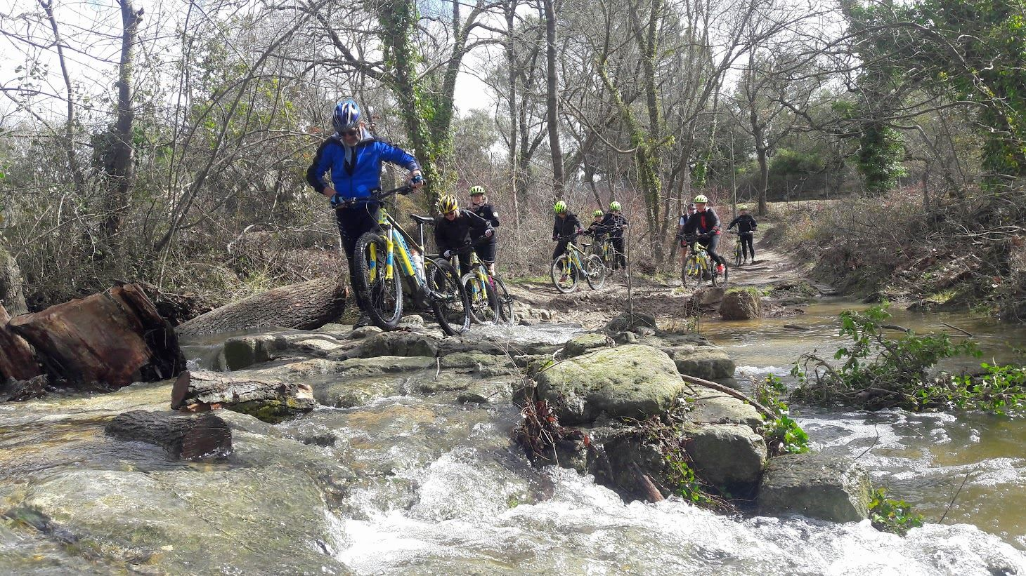 Discovery of the careers of Beaulieu in electric mountain bike with Seb Eco Bike