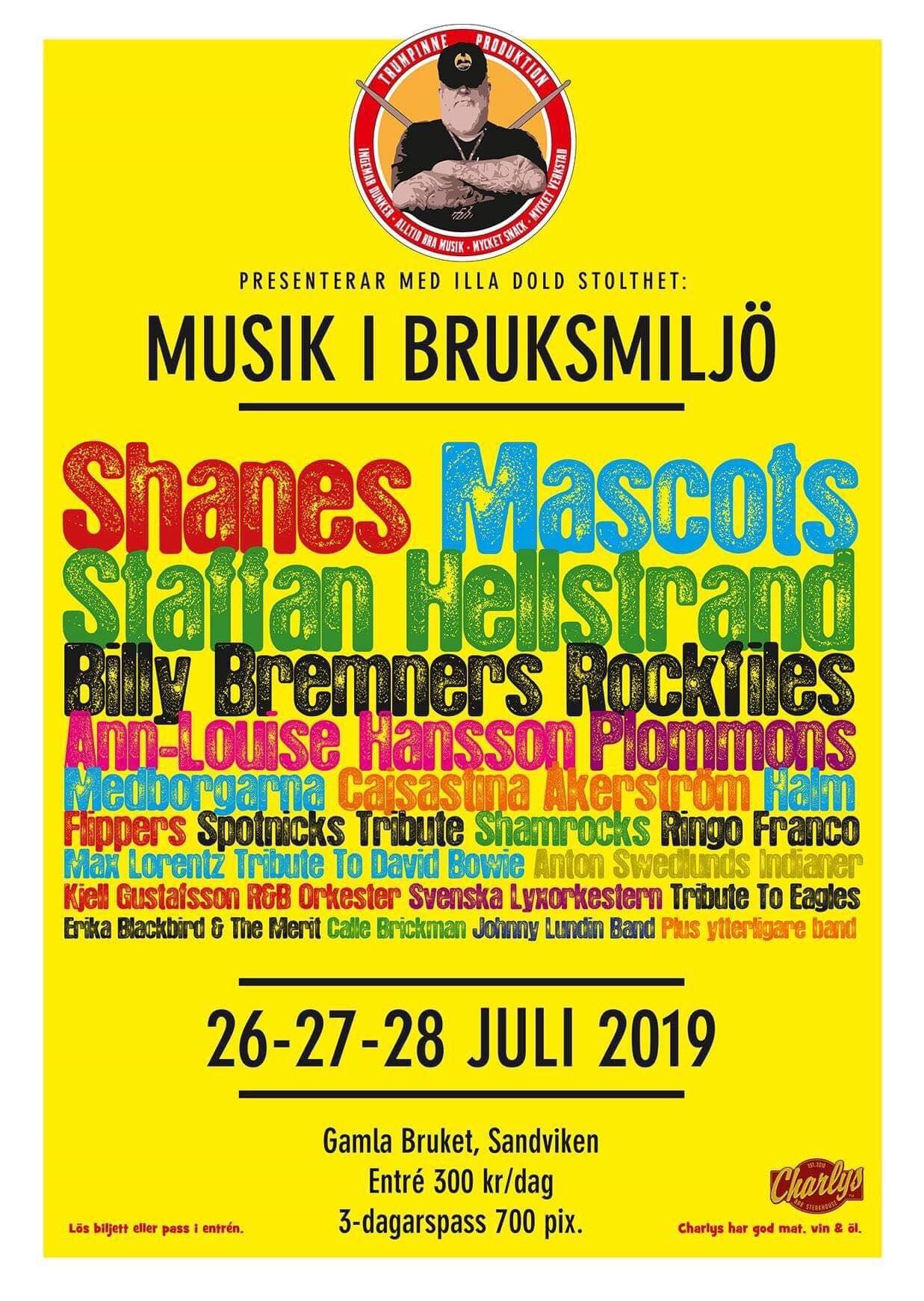 Musik i Bruksmiljö