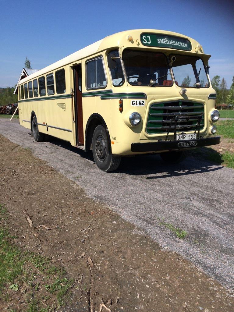 Nostalgibussen - Guidade bussturer med Gösta Jansson