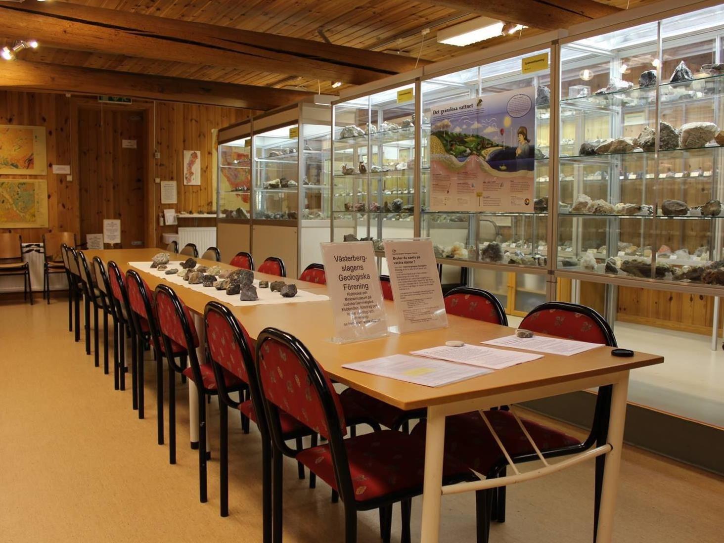 Studiebesök hos mineralogen och stensliparen Torbjörn Lorin