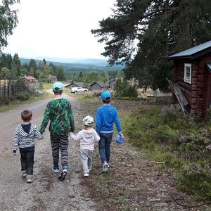 Guidade vandringar vid Grejsans fäbod