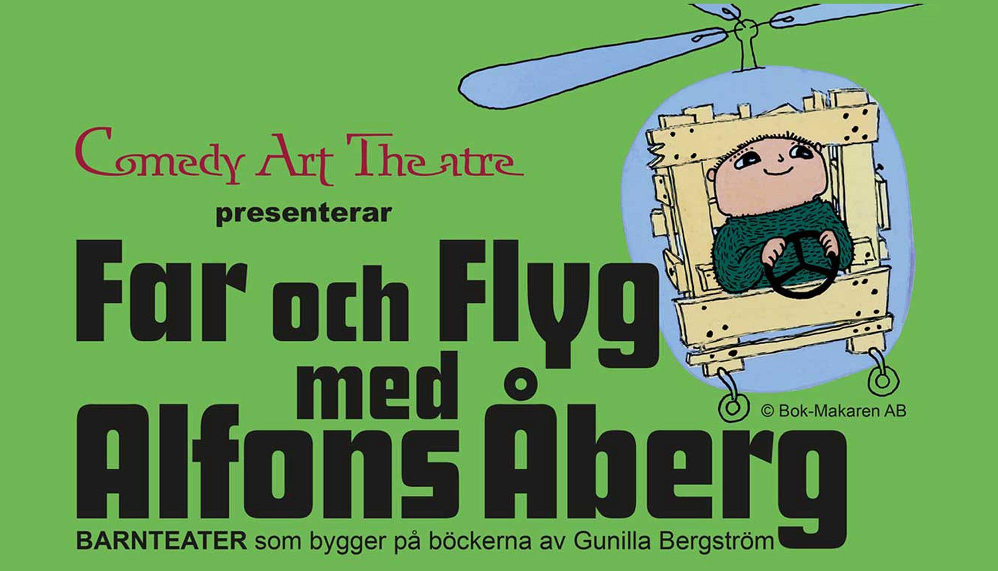 Far och flyg med Alfons Åberg