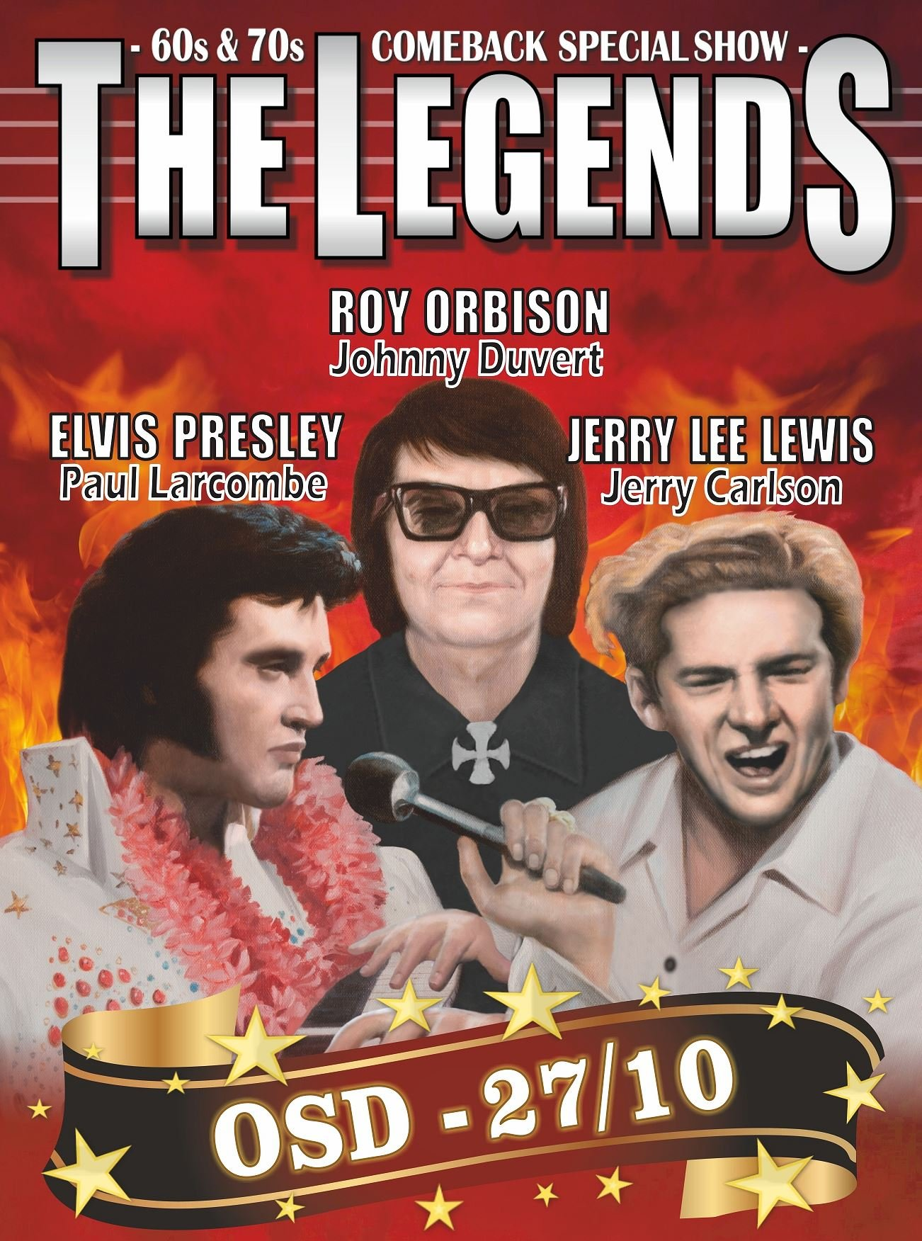 Foto: The Legends,  © Copy: The Legends, THE LEGENDS - 60s & 70s Comeback Special