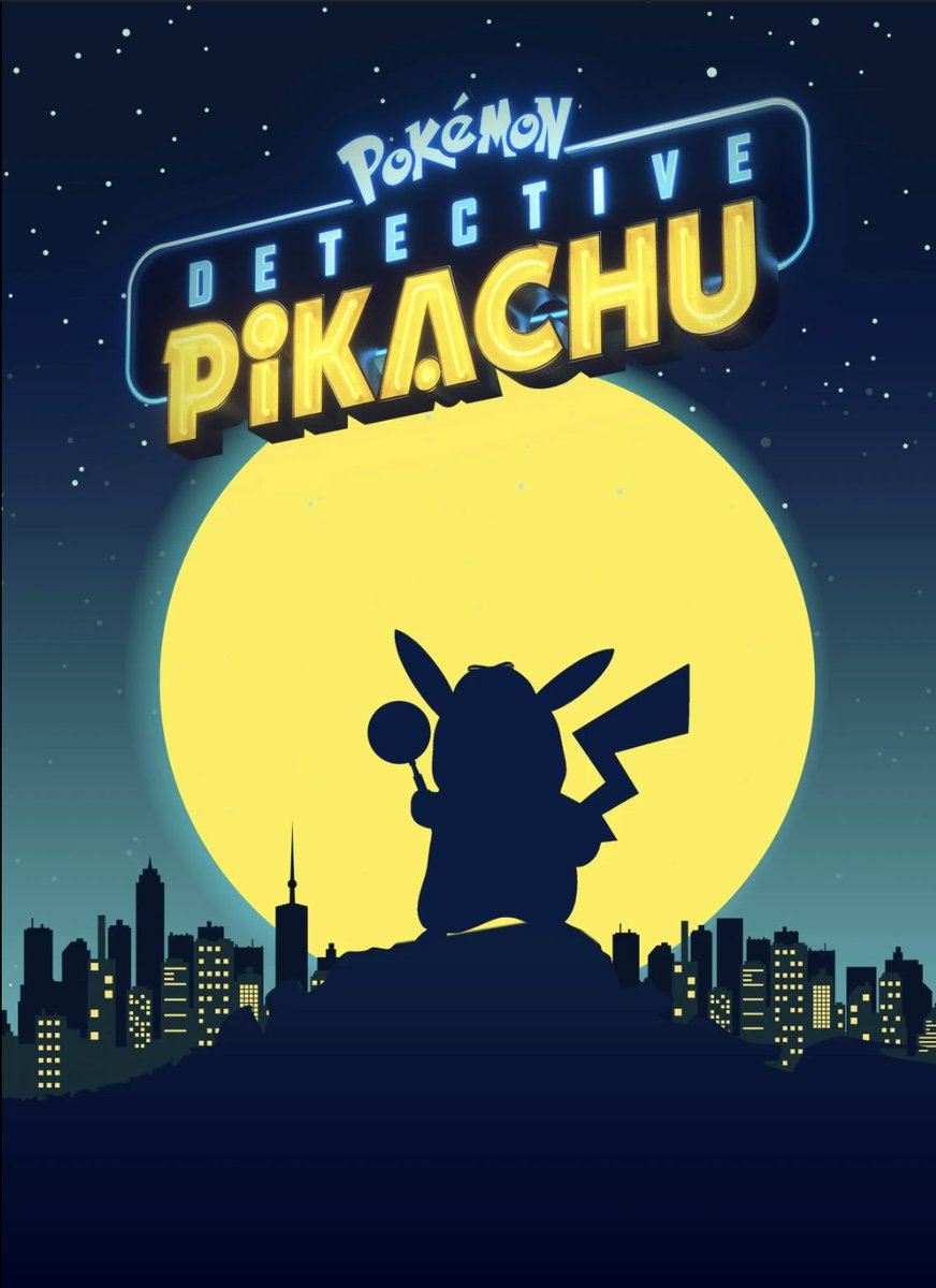 Detective Pikachu    Pokemonfilm