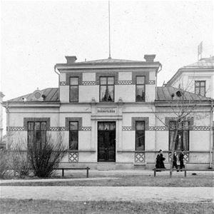 Sundsvalls museum Fotoarkivet, Lillgården, Esplanaden 21.
