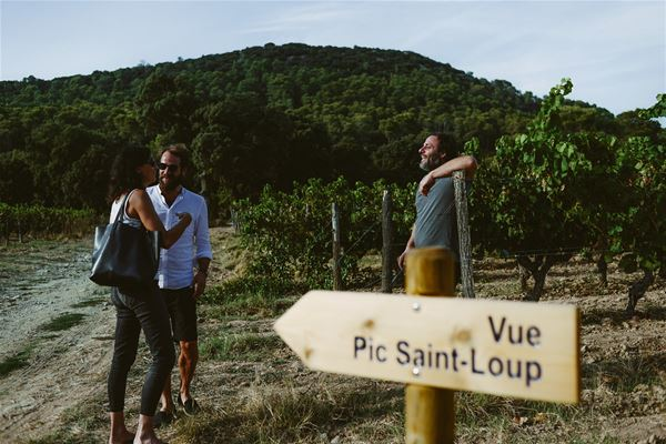 Road trip and wine tasting in Pic St. Loup with Betrand Bosc