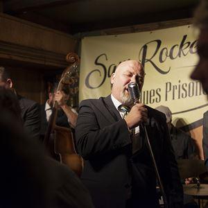Trädgårdsfest på Voxna Herrgård med Sam Rocket & his Blues Prisoners