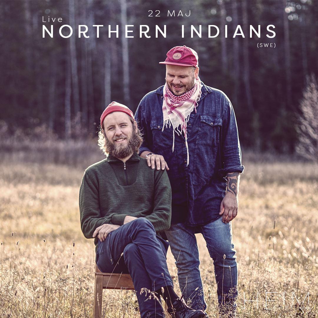 Northern Indians Live på H E I M Food Studio