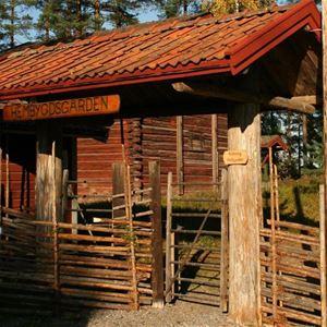 Hembygdsgården i Sunnansjö