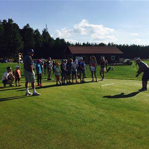 Juniorläger hos SAIK Golf