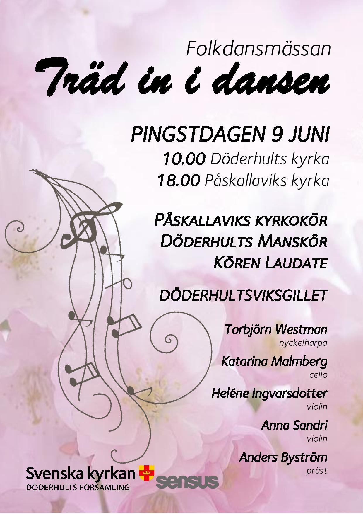 Folkdansmässan Träd in i dansen