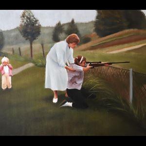 Ida Gudmundsson,  © Ida Gudmundsson, Vernissage Berget - en konstutställning med Ida Gudmundssons måleri