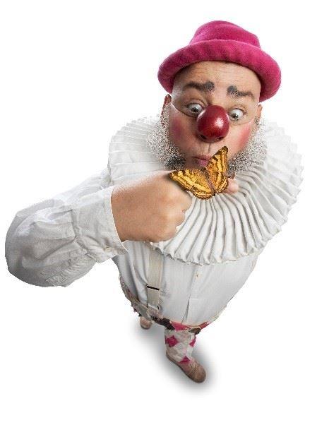 Nalle Clown - Barn- och familjeföreställning i Kronobäcks Klosterruin
