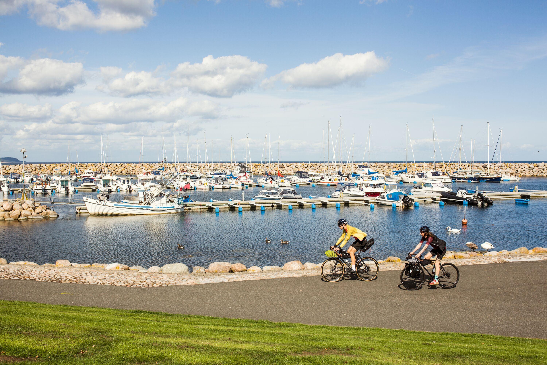Apelöga,  © Apelöga, Invigning Sydkustleden - Sveriges tredje nationella cykelled