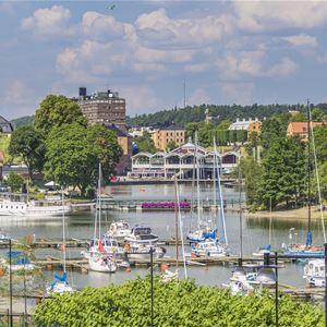 Södertäljevandringar 2019 - Södertälje som Badort. Kalla bad och varm punch-vandring i badortstiden