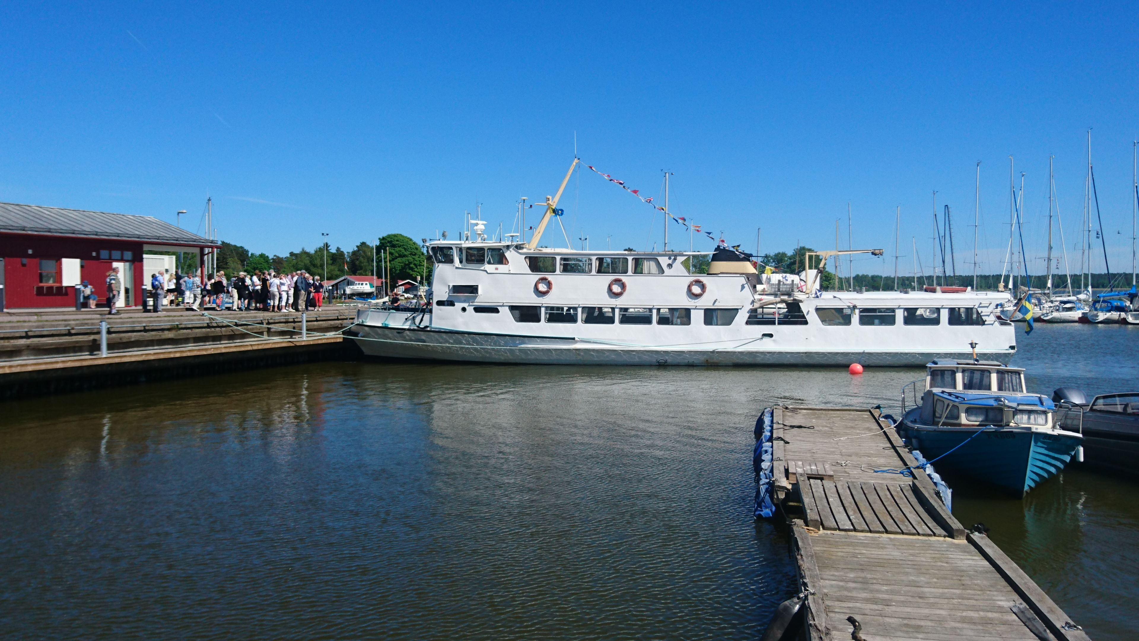 Båttur från Östhammar med m/s Östan