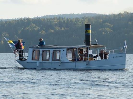 Båttur med ångfartyget S/S Wäsman
