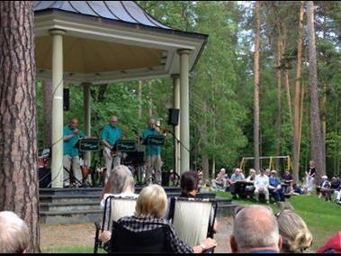Musik i Stadsparken - Stig Linds Little Big Band