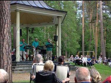 Musik i Stadsparken - Svärdsjö Spelmanslag