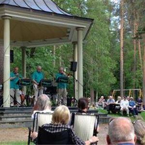Musik i Stadsparken - Stig-Allans Swing Quartet
