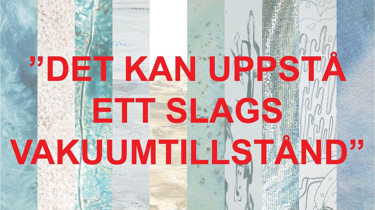 Utställning: Kronobergs konstskolas examensutställning