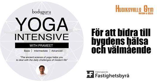 YOGA-EVENT I HUDIKSVALL - för hälsa och livskvalité!