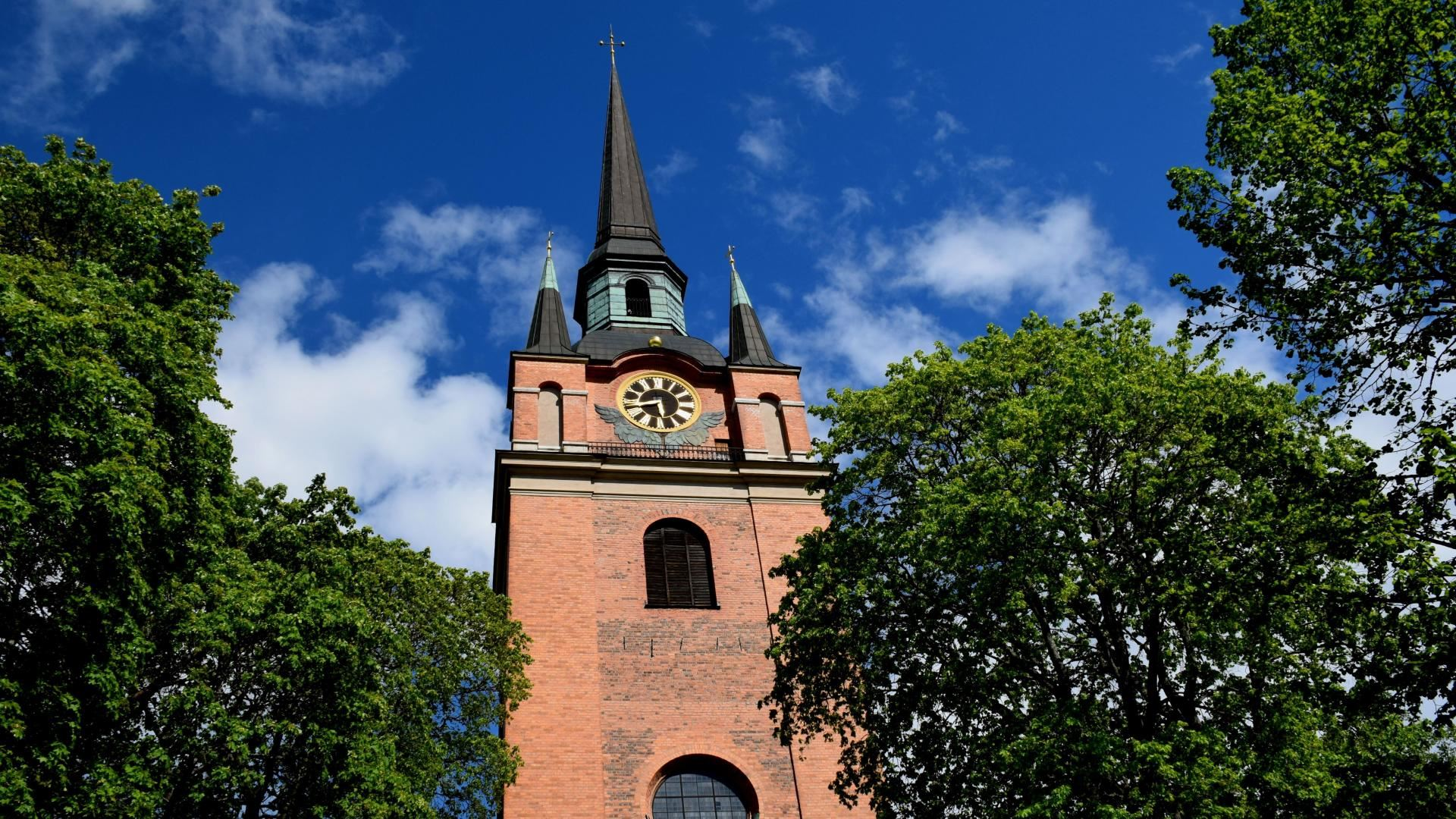 Visning av Stora Kopparbergs kyrka