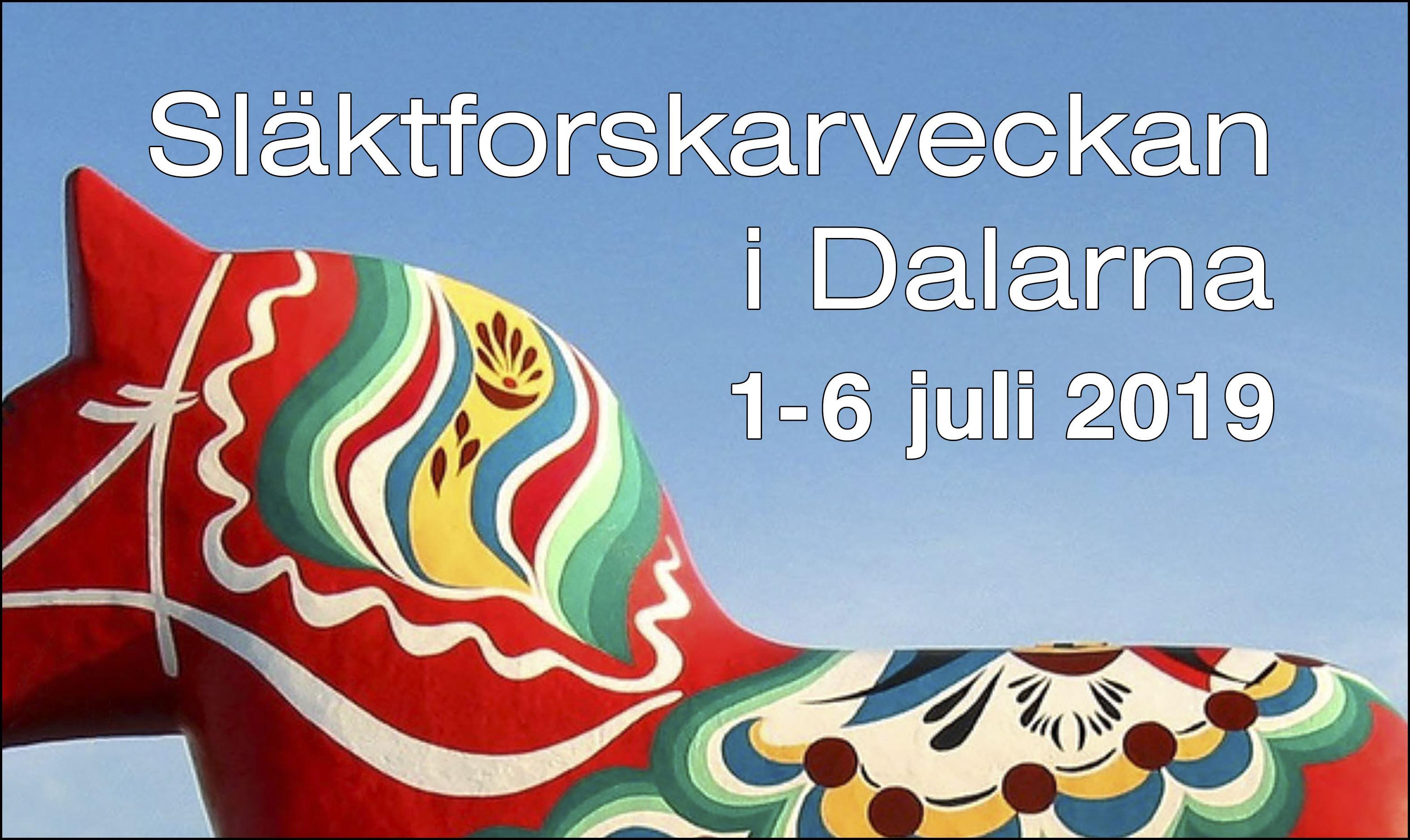 Släktforskarveckan i Dalarna - Rättvik/Leksand