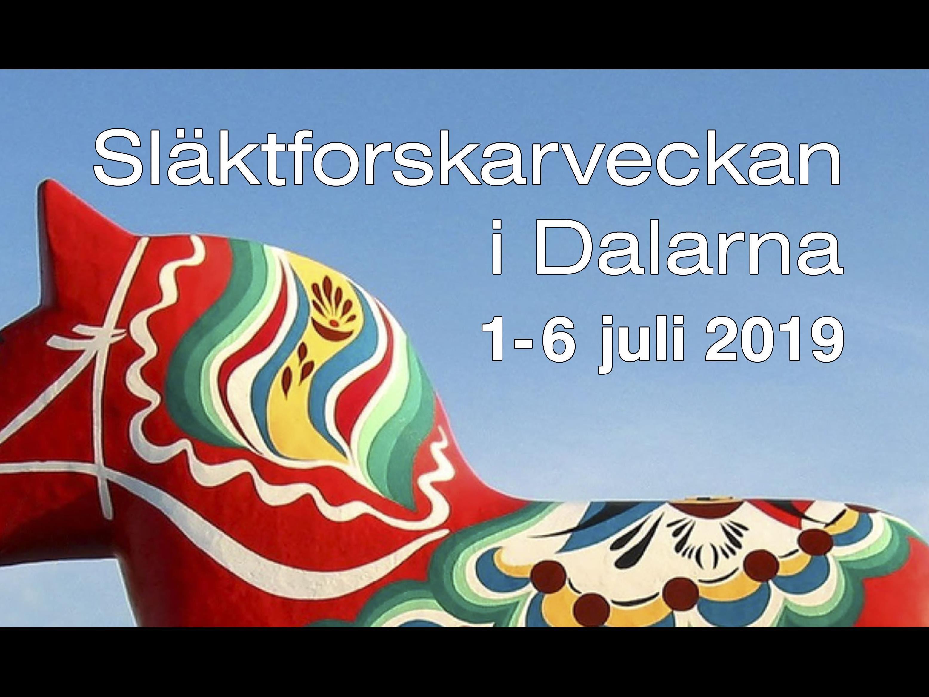 Släktforskarveckan i Dalarna - Ludvikadagen