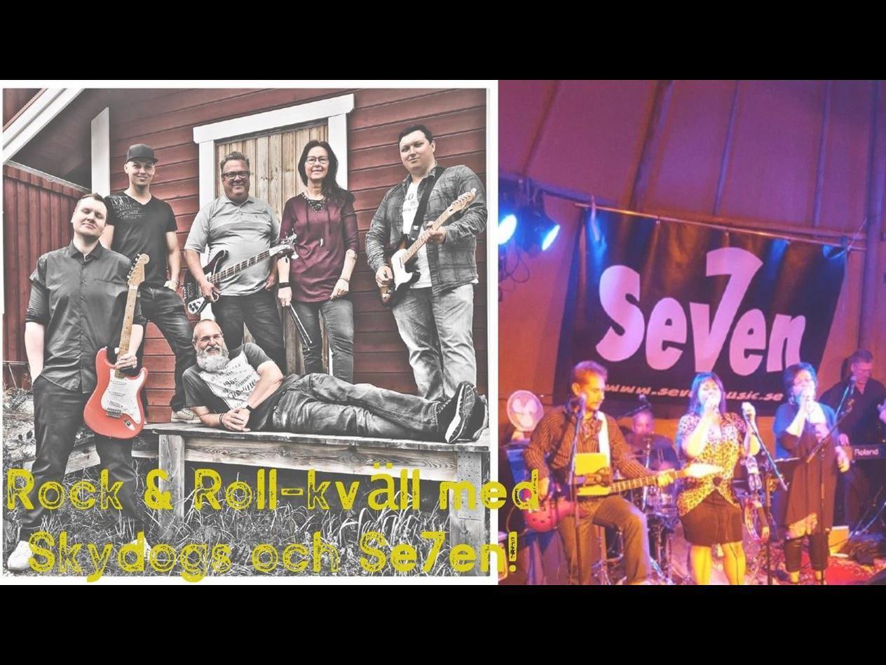 Rock 'n' Roll-kväll med Skydogs och Se7en!