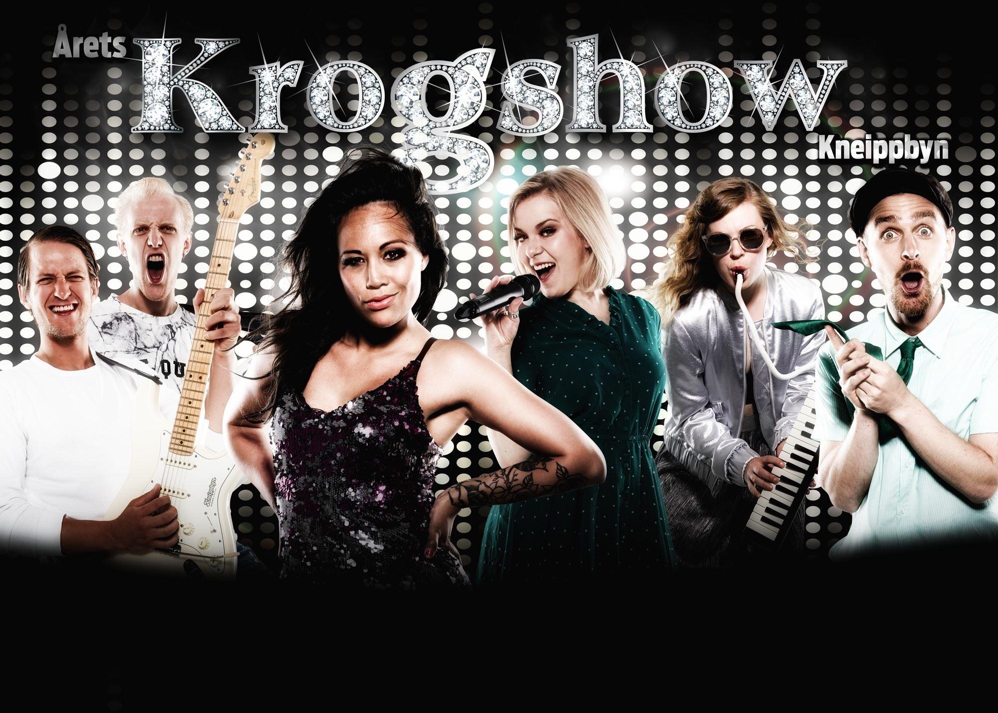 Krogshow på Kneippbyn (ONLINEPRIS) Just nu med biljettsläppsrabatt, läs mer här;
