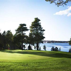 Ställplatser på Hudiksvalls Golfklubb