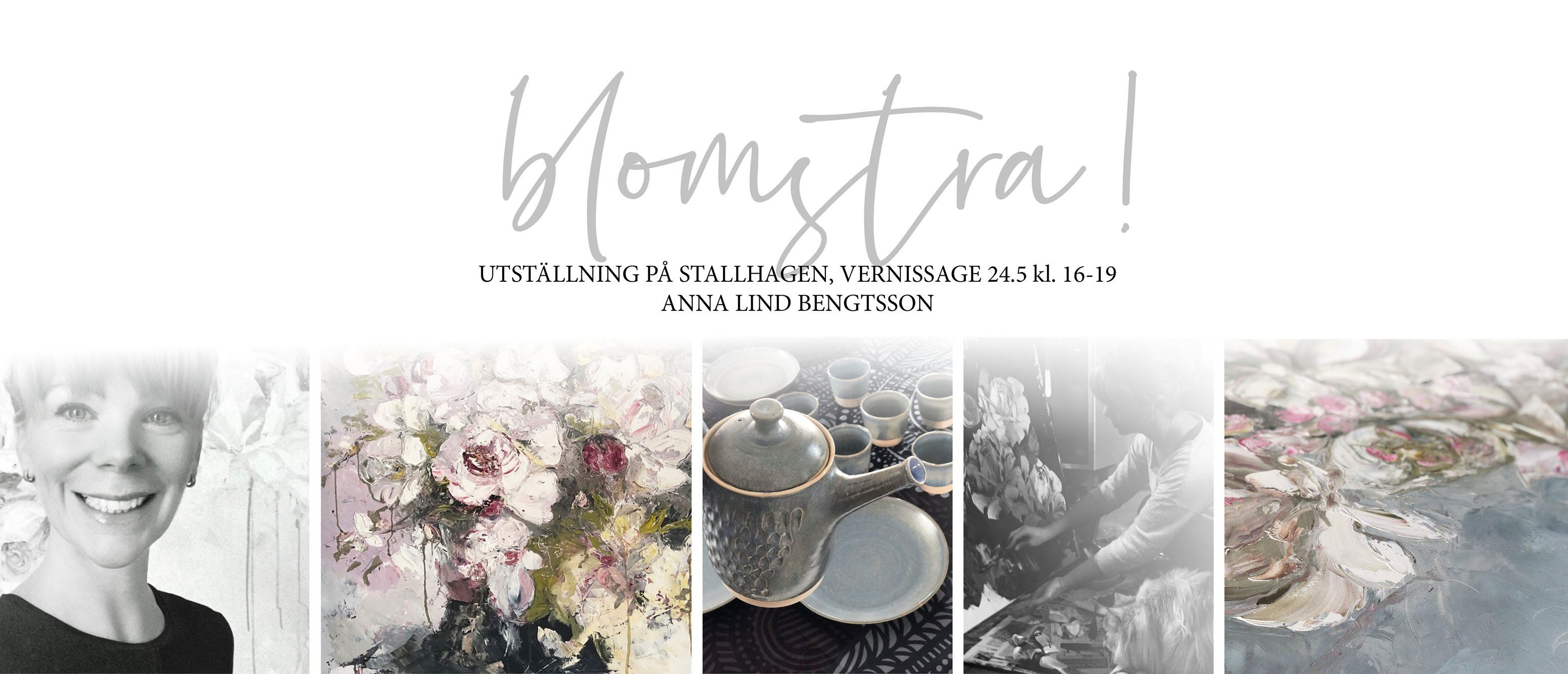 Art exhibition by Anna Lind-Bengtsson