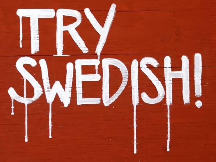 Vernissage: Try Swedish!