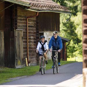 Guidad cykeltur i bergsmanslandskapet Varpan runt