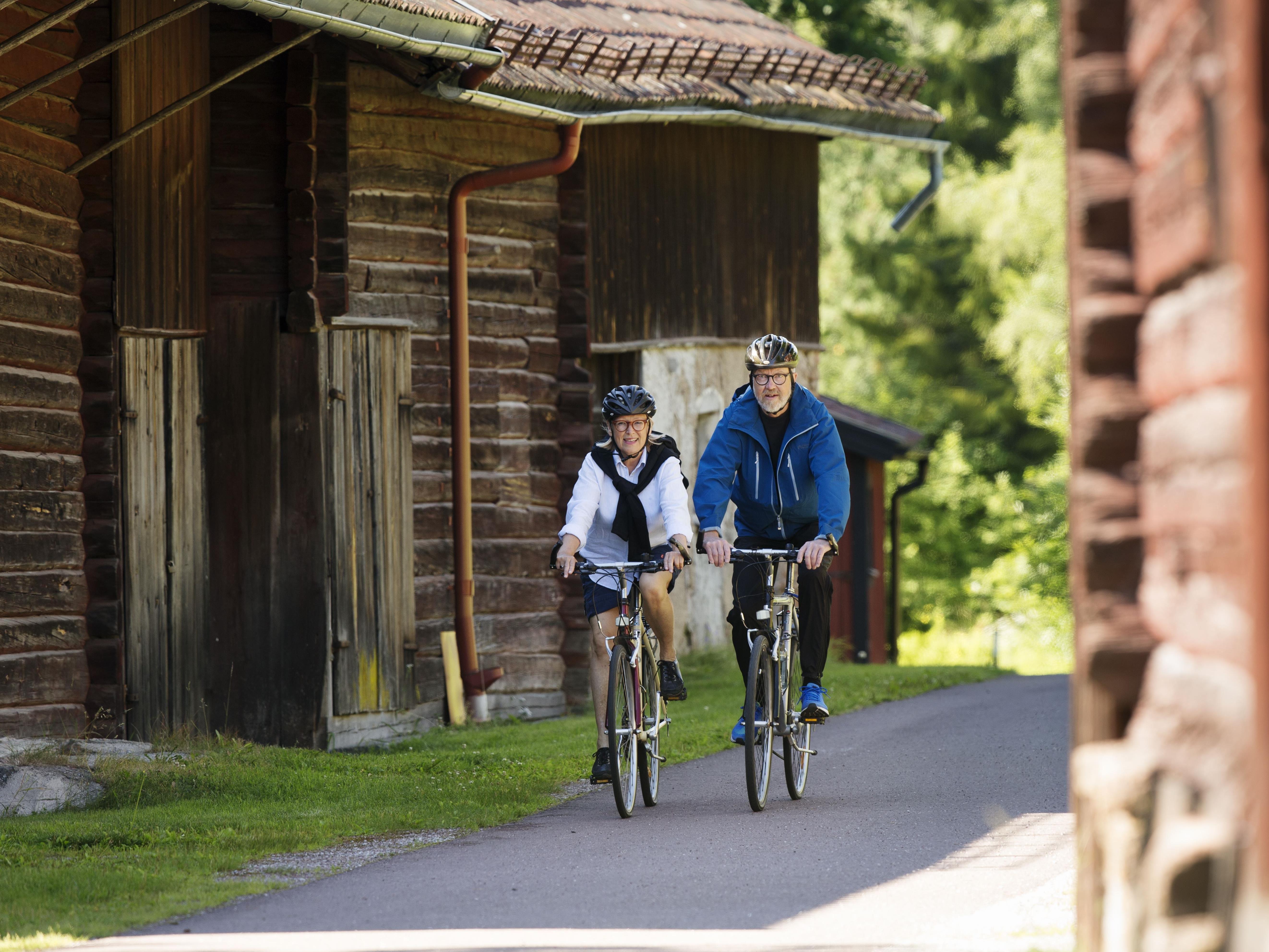 Guidad cykeltur miljöutmaningar i världsarvet