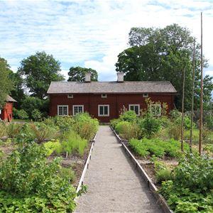 Trädgårdsvandring på Sveden