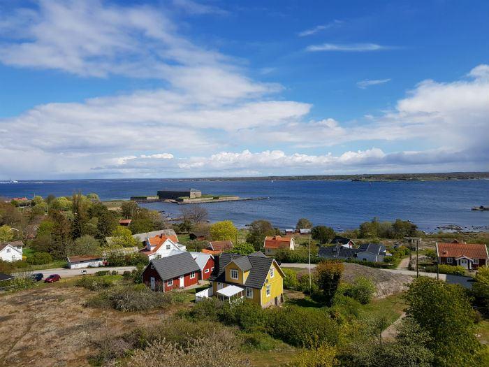 Wieża Pilotów na wyspie Aspö - schronisko Szwedzkiego Związku Turystyki (STF)