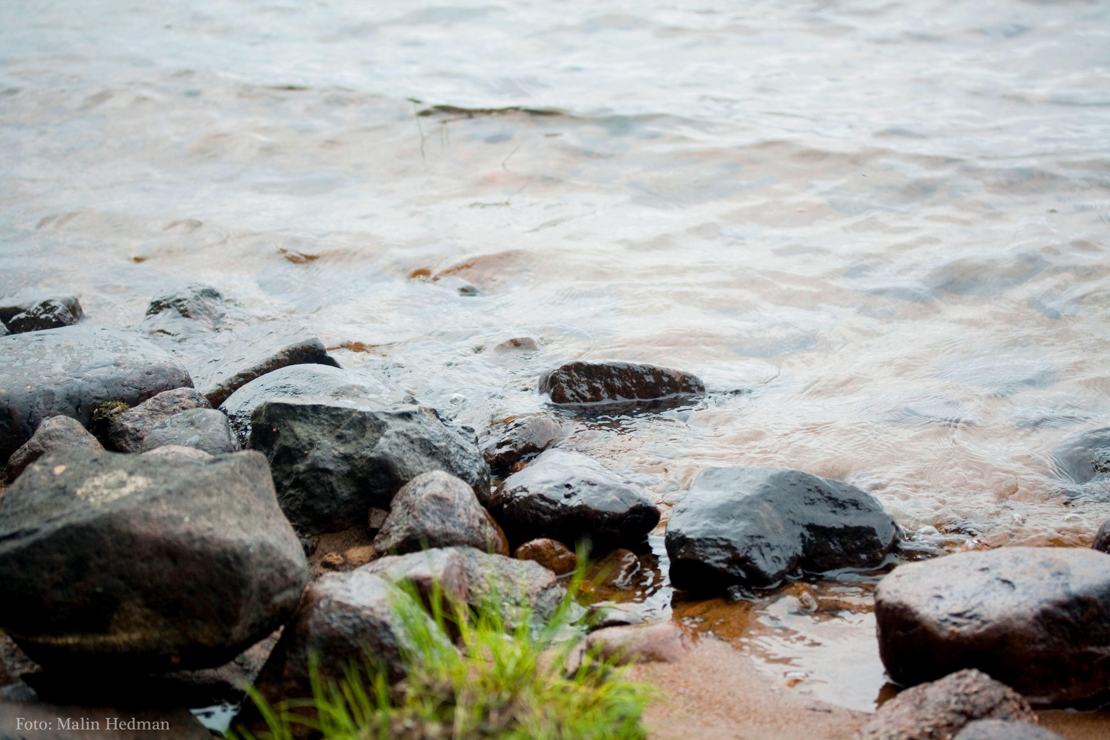 Malin Hedman,  © Malå kommun, Friluftsgudstjänst Springliden vid Skellefteälven - Malå församling