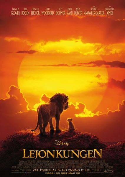 Sommarkvällsbio: Lejonkungen
