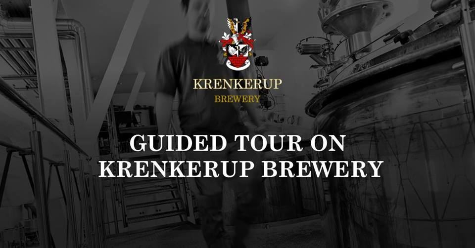 Guided tour in English on Krenkerup Brewery