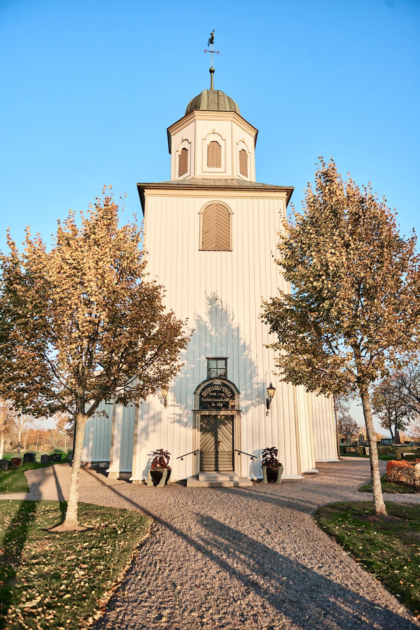 Friluftsgudstjänst vid Gustav Adolfs kyrka