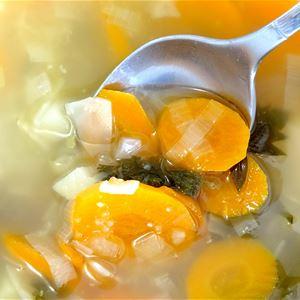Sopplunch med middagsbön