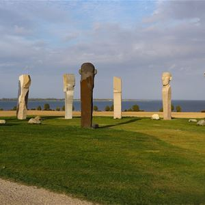Guided tour in English of The Dodecalith (Dodekalitten), Lolland