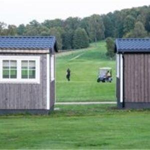 Premiumstuga vid golfbanan