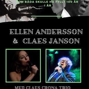 Ellen Andersson & Claes Janson – hyllning till Nat King Cole & Anita O´Day